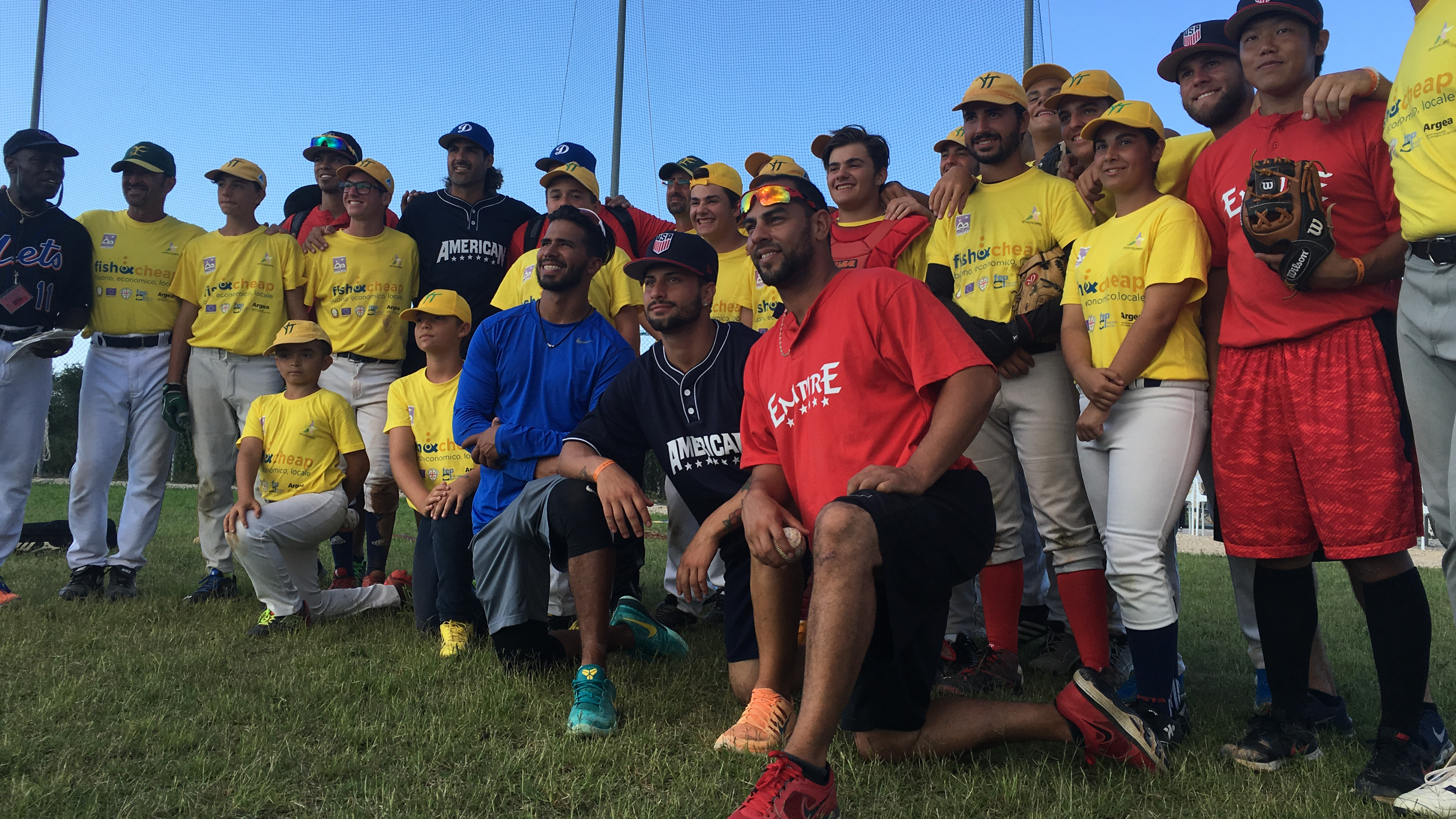 EMPIRE LEAGUE ALL STAR AMERICAN TEAM COMPETES VERSUS ITALIAN BASEBALL