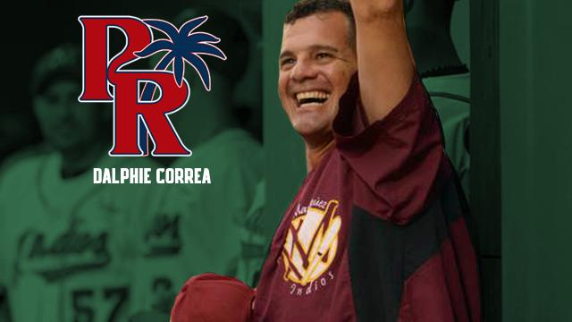 PUERTO RICO ISLANDERS NAMED DALPHIE CORREA MANAGER