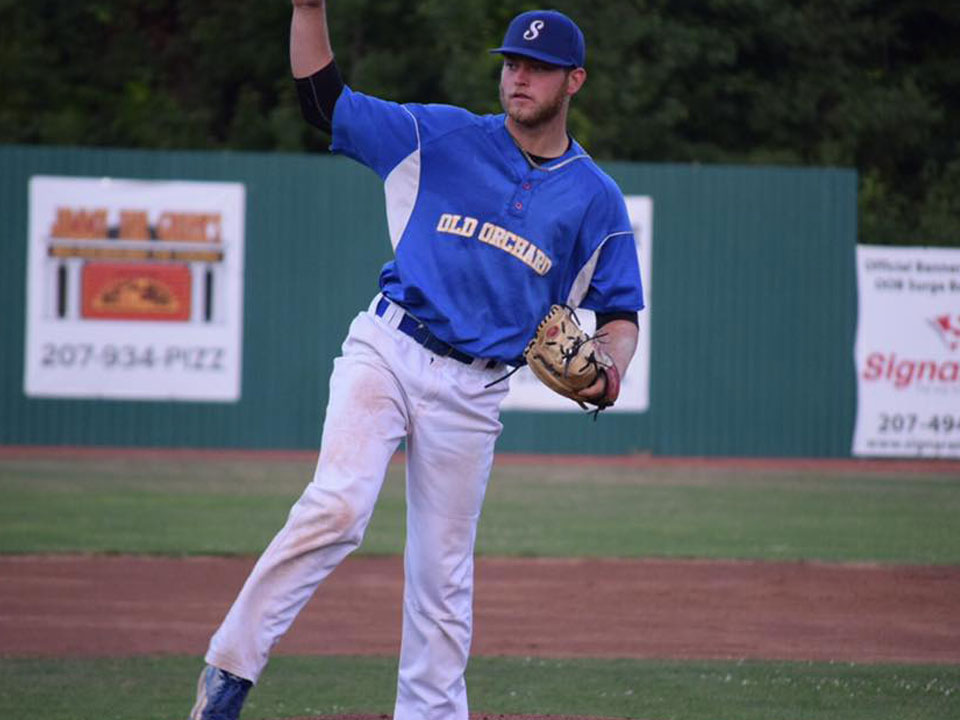 RHP MARK HENDRICKS SIGNS WITH NORMAL CORNBELTERS OF THE FRONTIER LEAGUE