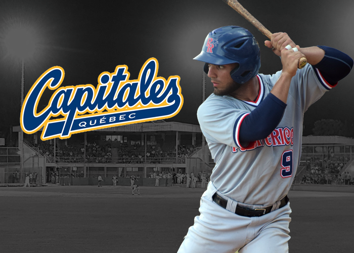 JUAN AVILA PROMOTED TO THE QUEBEC CAPITALES OF THE CANAM LEAGUE