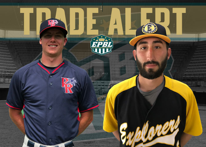 ISLANDERS TRADE RHP PATRICK DONOHOE TO EXPLORERS FOR RHP JOHN GONZALES