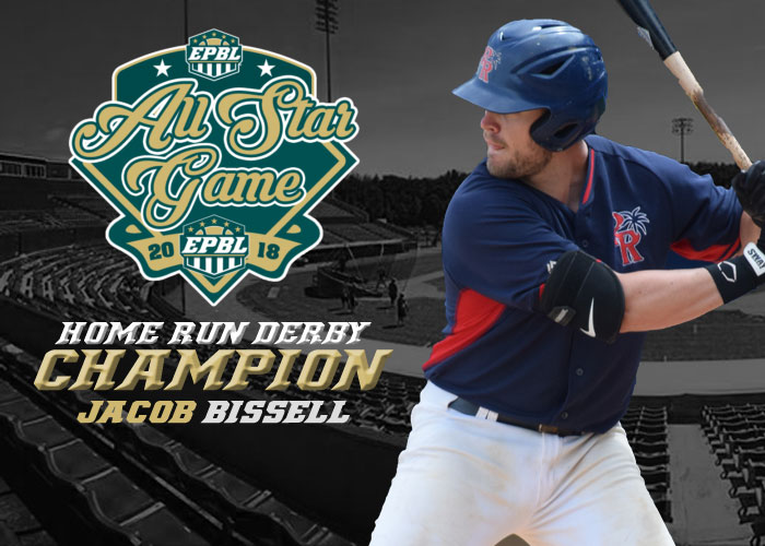 JJ BISSELL WINS 2018 HOME RUN DERBY AND IS SENT UP TO NORMAL CORNBELTERS OF THE FRONTIER LEAGUE