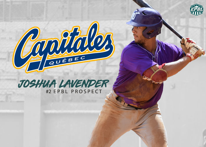 NUMBER 2 PROSPECT JOSHUA LAVENDER SENT TO QUEBEC OF THE CANAM LEAGUE