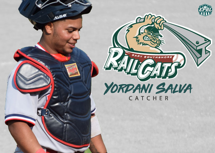 YORDANI SALVA SENT TO GARY SOUTHSHORE RAILCATS OF THE AA