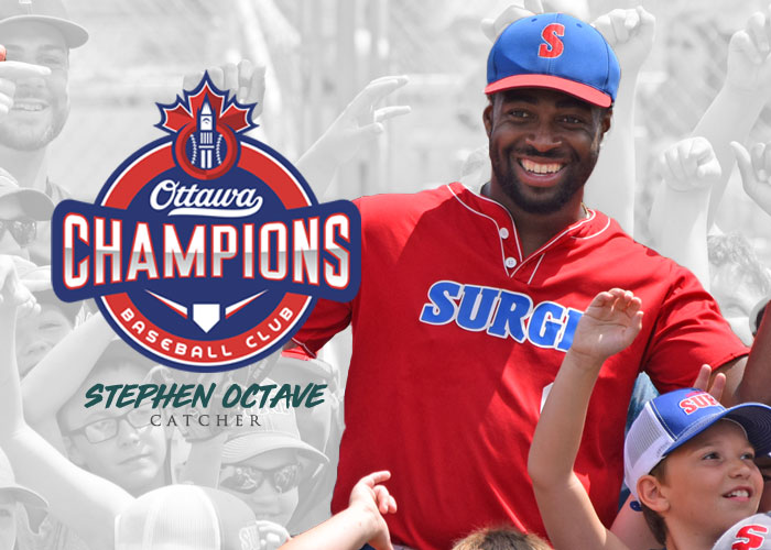 STEPHEN OCTAVE MOVED TO OTTAWA CHAMPIONS OF THE CANAM LEAGUE