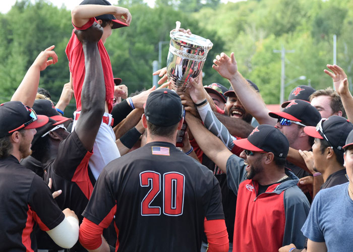PLATTSBURGH THUNDERBIRDSD WIN 2019 EMPIRE LEAGUE CHAMPIONS