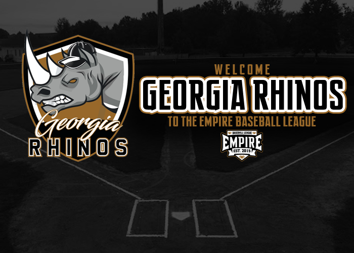 GEORGIA RHINOS TO JOIN EMPIRE LEAGUE AS NEW EXPANSION ORGANIZATION MANAGED BY TIM RAINES JR