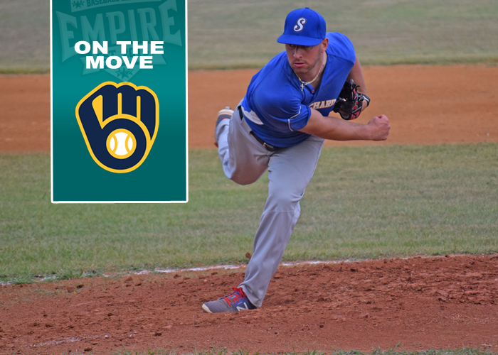 FORMER SURGE PITCHER SIGNS WITH THE MILWAUKEE BREWERS